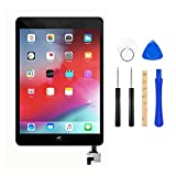 for iPad Mini 1 / iPad Mini2 Front Glass Replacement/Touch Screen Digitizer with IC Chip & Repair Tool Kit -Black 7.9 Inch