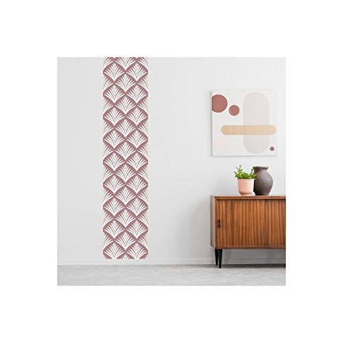 99 Deco behang trend vlies My Leaves in roze Oude Roos