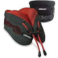 Cabeau Evolution Cool Travel Pillow, Air Circulating Head and Neck Support (Red)