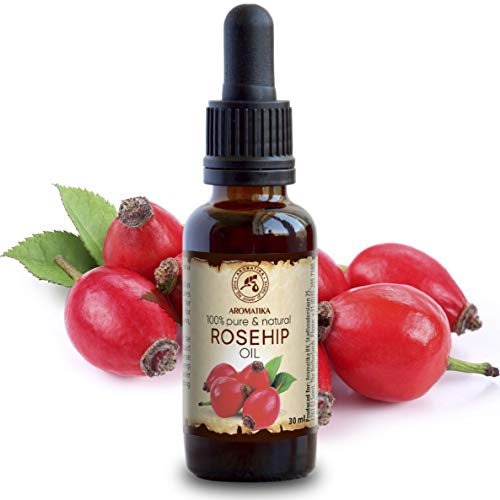 Aceite de Rosa Mosqueta - 30ml - Rosa Canina Fruit Oil - Chile - 100% Puro y Natural - Rosehip oil