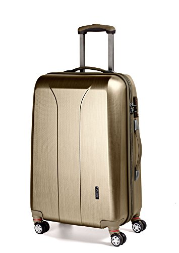 March 15 New Carat 4-Rollen-Trolley M 65 cm Gold Brushed