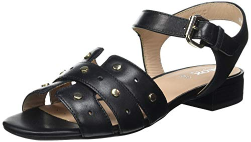 Geox Damen D WISTREY Sandalo C Sandal, Black, 40 EU