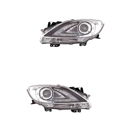 Scheinwerfer Set links & rechts Hauptscheinwerfer Frontscheinwerfer Xenon für Model 3 BL