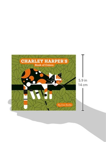 Charley Harper's Book of Colors (Charley Harper Board Books)