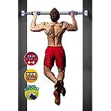 Bodyrox BODYROX - ドア ジム (door gym) 筋肉ホームトレーニング 懸垂 運動不足 を簡単解消, 腹筋 64-95cm グリーン…