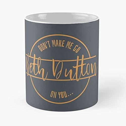 WHY Y/'ALL TRYING BETH DUTTON WHITE MUG
