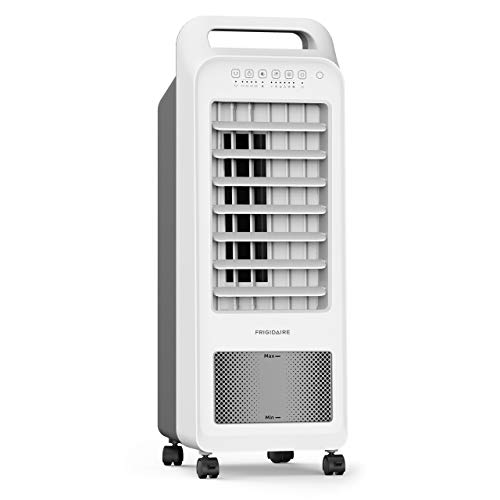 Frigidaire EC100WF, Fan Cooler and Humidifier with Removable 1.5 Gallon Tank, 2-in-1 Compact Design, Remote Included, 100 Square Foot Effective Range