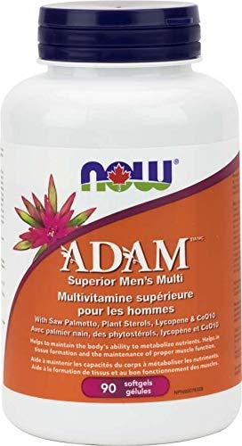 NOW ADAM Superior Men's Multi 90 Softgels, 50 g