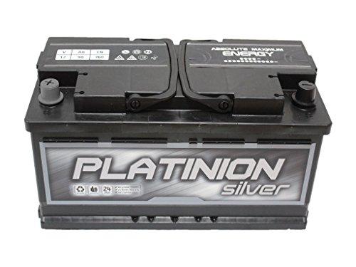 Batería de coche 90ah Izquierda PLATINION Silver