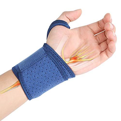 Haofy Muñequera universal, soporte de muñequera para la mano derecha o izquierda, perfecto para el túnel carpiano, artritis, tendinitis, esguince, alivio del dolor en las articulaciones