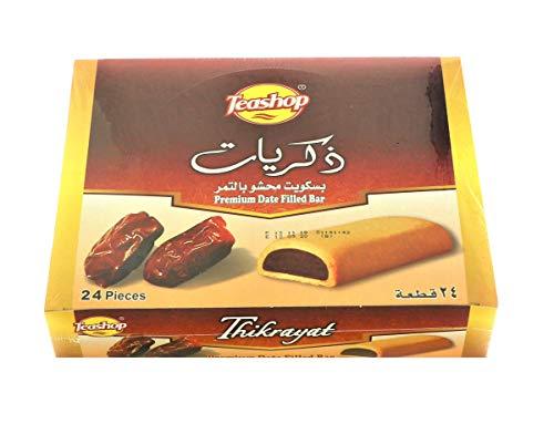 Teashop Maamoul Thikrayat Kekse gefüllt mit Datteln 504 g