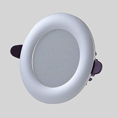 4 pulgadas de 5W LED empotrada en el techo luces de la cocina dormitorio Spotlight Focos Integrado de Diseño de Iluminación Montaje del recorte □ 75-95MM 110V - 240V [Clase energética A ++]