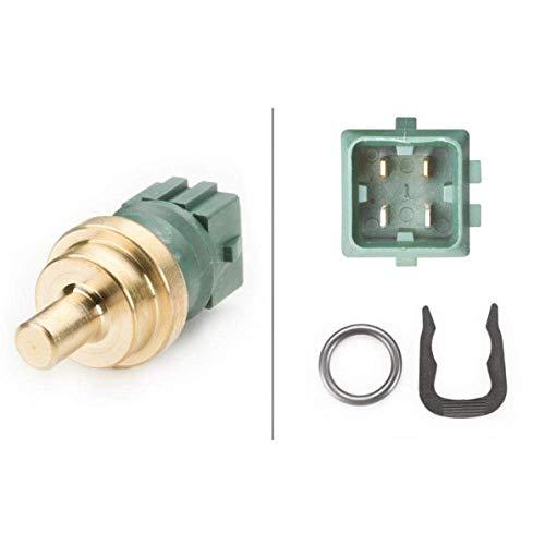 HELLA 6PT 009 107-541 Sensor, Kühlmitteltemperatur - 12V - gesteckt - mit Dichtung - mit Sicherungsring