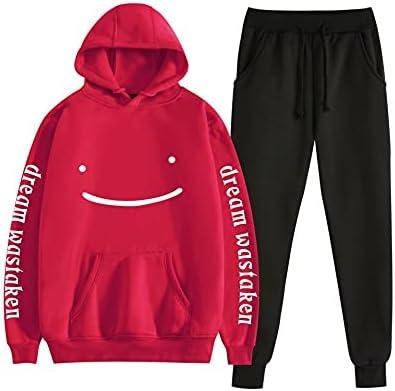Max 45% OFF Uniform Dreamwastaken Dream Smile quality assurance Two-Piece Sweats Hoodies Pants