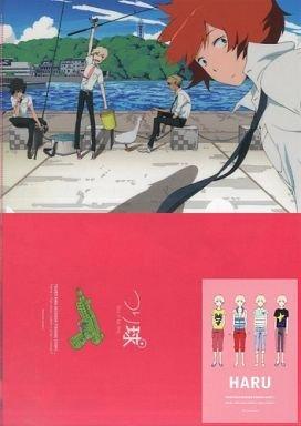 つり球 くじ J賞 クリアファイル&ポストカード(ハル) set-2 単品