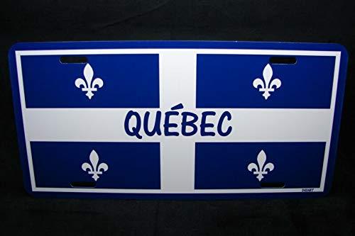 Quebec Flag Car License Plate Plaque De Licence Du Drapeau Du QuéBec Auto Car Novelty Accessories License Plate Art