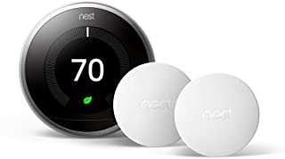 Nest Learning Thermostat 3rd Generation With 2 Sensors