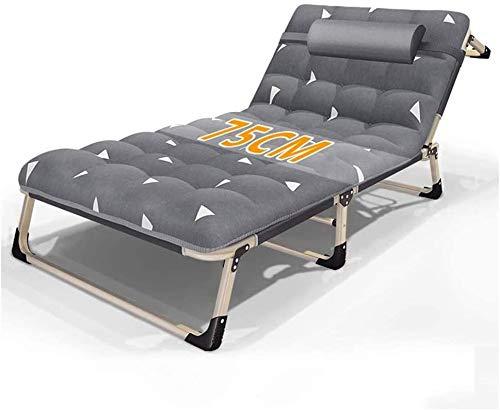 FLLOVE Einzel Home Office nap Lehnstuhl tragbare zusammenklappbare Stühle