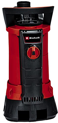 Einhell 4171450 Schmutzwasserpumpe GE-DP 6935 A ECO (690 W, max. 17.5 l/Std., bis 35 mm Fremdkörpergröße, Aquasensor mit 3 automatischen Sensorstarthöhen, Dauermodus, inkl. Universalanschluss)