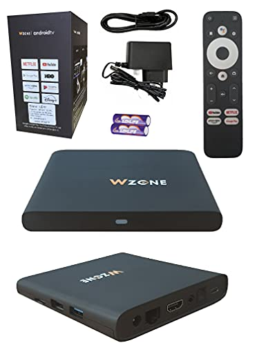 Leyf 4K TV BOX Android 10 11 12 13 Free Upgrade - ARM Cortex-A55 CPU / ARM Mali-G31 GPU / 2 GB Ram / 8 GB Memory /WİFİ( Type-C,HDMI 2.1,USB 3.0,Ethernet ,SD/MicroSD)Smart Tv,Chromecast,Netflix,YouTube