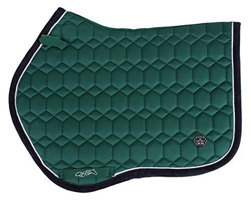 QHP Schabracke Eldorado anatomisch geformter Rücken gestepptes Wabenmuster; Q-Cross Line (Warmblut VS, Army)