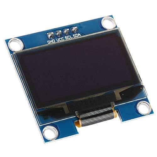 Blaues OLED-Display-Modul, LED-Display 1,3-Zoll-OLED-Display, 128X64 für Arduino Raspberry PI