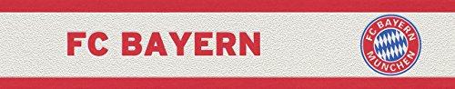 Preisvergleich Produktbild Rasch Tapeten 769906 Vlies Bordüre FC Bayern München