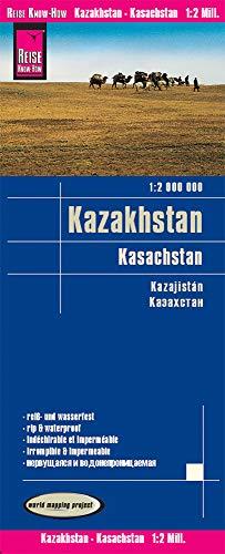 Kazakhstan rkh r/v (r) wp GPS: world mapping proj