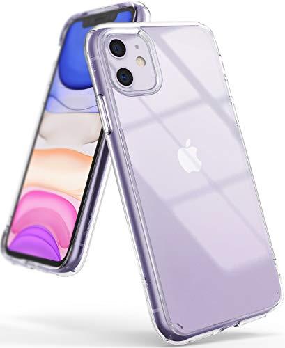 Ringke Fusion Diseñado para Funda iPhone 11, Espalda Transparente Prevención de Golpes Parachoque TPU Carcasa iPhone 11 6.1 Pulgadas (2019) - Transparente
