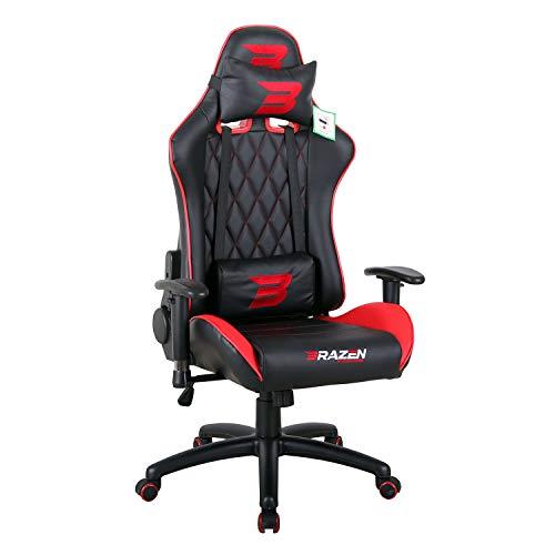 BraZen Phantom Elite Gaming-Stuhl, Rot