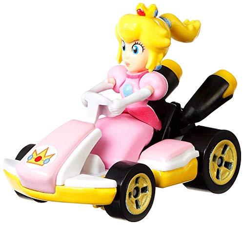JRhong RC Camión Volquete - Mario Kart Peach, Vehiculos, Coche de Juguete (Mattel GBG28) Transformación