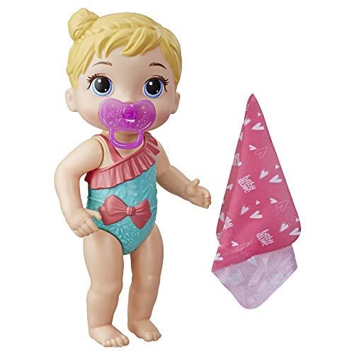 Baby Alive Bebé Chapoteos y Abrazos Doll, Rubia