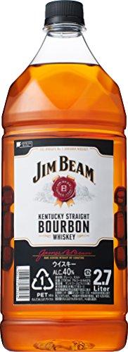 バーボンウイスキー ジムビーム 2.7L ペットボトル
