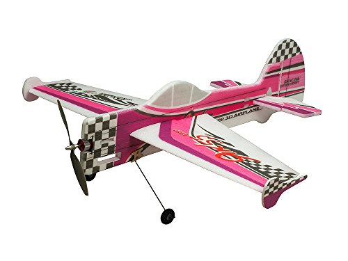 DW Hobby 3D Flying Airplane YAK55 800mm Wingspan 4CH EPP Electric Aeroplane Remote Controlled Aircraft Need to Build Un-Assembled KIT Hobby Toy Model for Adults (E1704)