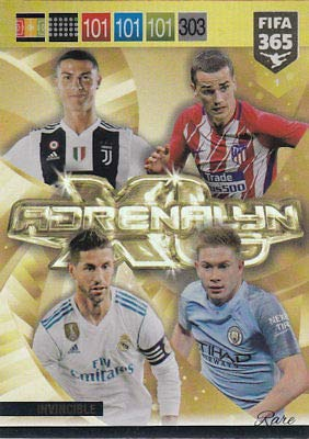 PANINI ADRENALYN XL FIFA 365 2019 - INVINCIBLE RARE CARD - #1