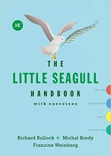 [0393602648] [9780393602647] The Little Seagull Handbook with Exercises (3rd Edition)-SpiralBound