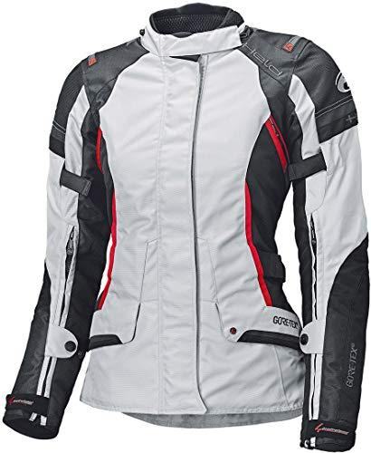 Held Motorradjacke mit Protektoren Motorrad Jacke Molto Damen Textiljacke GTX grau/schwarz S, Tourer, Ganzjährig