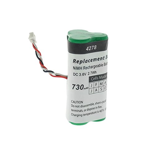 Artisan Power Replacement Battery Compatible with Motorola/Symbol LS-4278 and DS-6878 Scanners. 730 mAh
