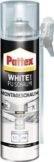 Pattex 1K-montageschuimte Pattex White PU 500ml wit, 12 stuks