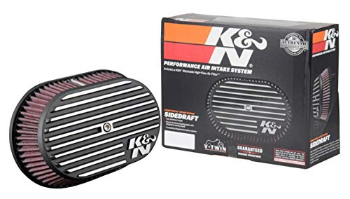 K&N Air Intake System: Air Cleaner Kit for Harley Davidson 2008 - 2017...