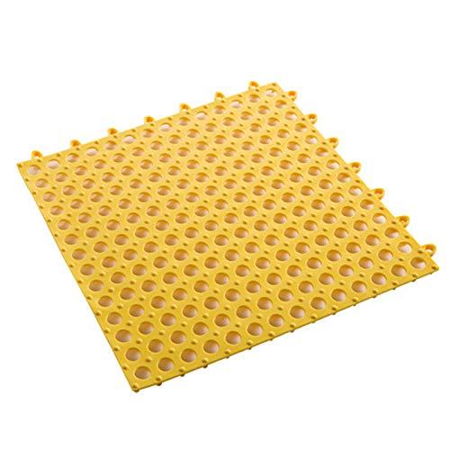 Qiujing Tapis étanche découpable en PVC souple antidérapant pour carrelage de piscine, douche, bain, cuisine, 30 x 30 cm