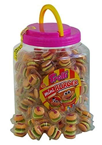 Trolli Mini Burger par 90 unités