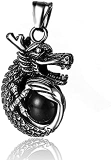 Men's Stainless Steel Necklace by Joel Ora - Model DT-GX1022