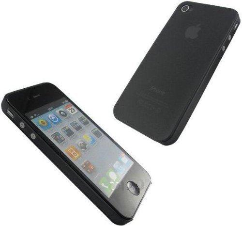 itronik® 0,35mm Ultra Slim flacher Bumper - die dünnste flexible Schutzhülle für Apple iPhone 5 5S - Bumpers Hülle Hülle Schale Schutz Tasche Schwarz Black