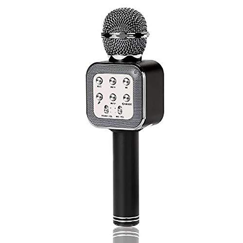 INEP KTV handmicrofoon, draadloos, luidspreker reverb, stemcondensator karaoke live recording surround sound voor Android/iPhone games Anytime