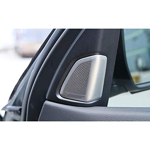 JIERS Für BMW X5 F15 2014-2017 Decken die Hochtöner für Autotürlautsprecher die Verkleidung des Auto-Styling-Zubehörs ab