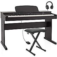 Piano Digital DP-6 de Gear4music + Set de Accesorios