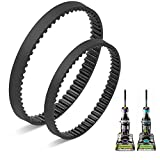 JEDELEOS Replacement Belt Set for Bissell ProHeat 2X Revolution Pet Pro Cleaner, Fits Models 1986,1964,2007,2007P, Compared to Parts 1611129 & 1611130