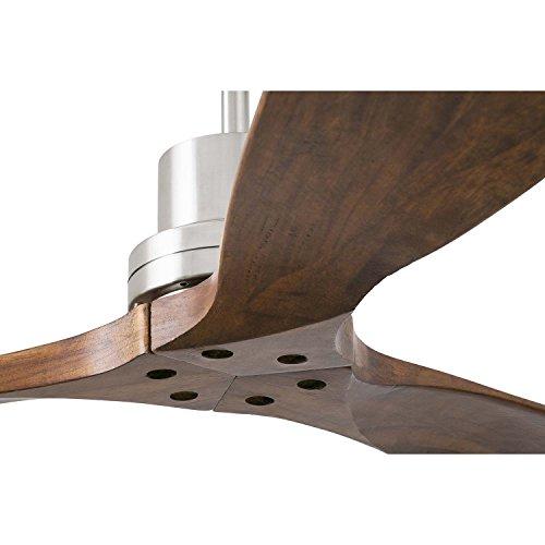 Holz Deckenventilator Lorefar inkl. Fernbedienung kaufen  Bild 1*