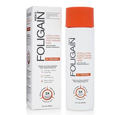 FOLIGAIN - Balsamo per la ricrescita dei capelli per uomo con Trioxidil al 2% - 236 ml
